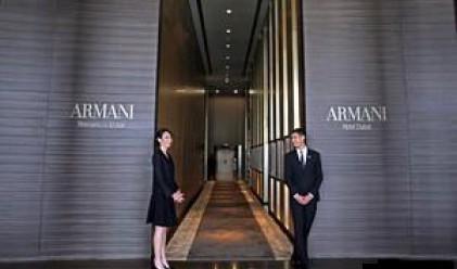Армани откри първия си хотел в Дубай