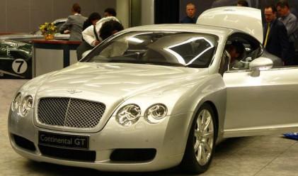 Bentley временно се оттегля от румънския пазар