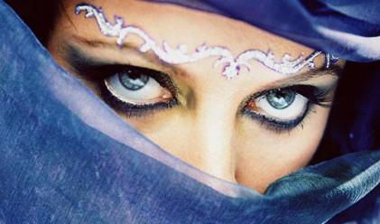 Красотата на жените се определя от бялото на очите