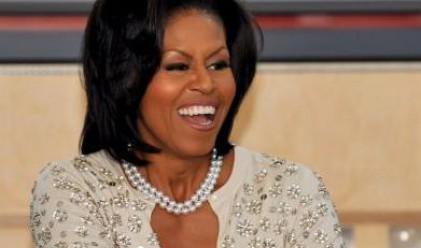 Мишел Обама се размина на косъм с авиоинцидент