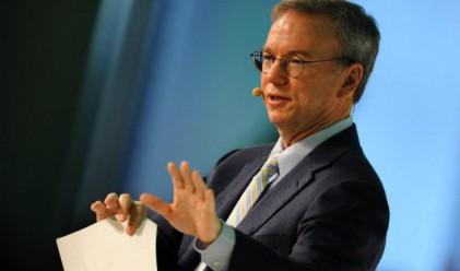 Google вдига заплатата на Ерик Шмид с 1.25 млн. долара