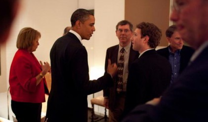 Facebook се включи в кампанията на Обама