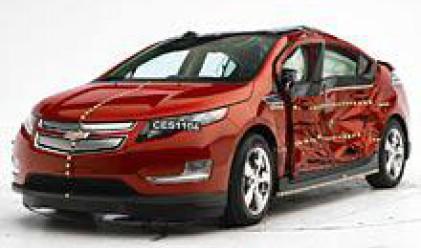 Първи електромобили с Top Safety Pick рейтинг за сигурност