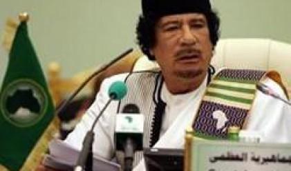 Кадафи поиска примирие, докато НАТО го атакува
