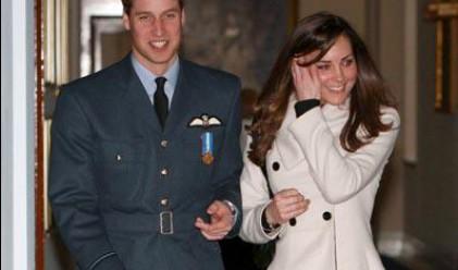 Уилям и Кейт ще живеят под наем след сватбата