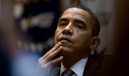 Обама гледа кралската сватба по телевизията