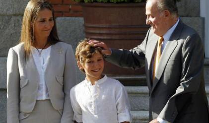 Внукът на крал Хуан Карлос се простреля