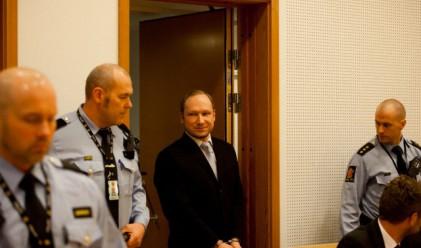 Норвежкият масов убиец не се призна за виновен