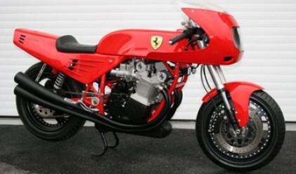 Продават на търг единствения мотоциклет Ferrari в света