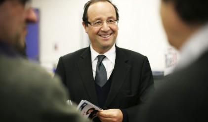 Франсоа Оланд с най-големи шансове за следващ президент на Франция