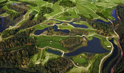 Най-екзотичните голф игрища в света