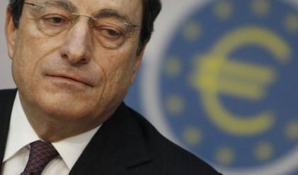 Драги е разочарован от ефективността на заемите на ЕЦБ