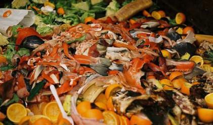Хранителни отпадъци за миене