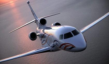 Самолетите на богатите и известните
