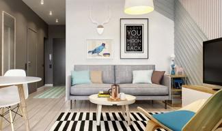 Невероятно добре планиран апартамент от 40 квадрата
