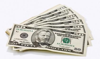 Днес доларът ближе рани след отчетените тримесечни загуби