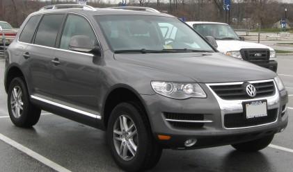 Volkswagen изтегля над 103 хиляди автомобила Touareg