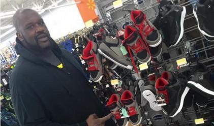 Шакил О'Нийл продаде 120 млн. чифта кецове в Wal-Mart
