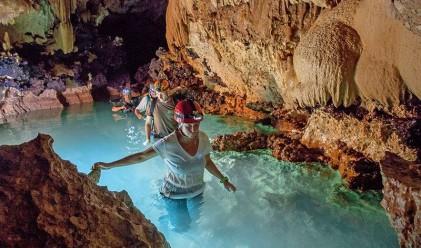 В пещерата, в която маите са принасяли човешки жертви на боговете