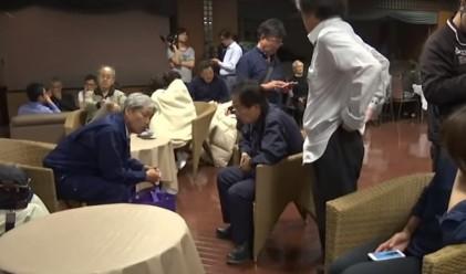 Най-малко 16 са загиналите при мощния трус в Япония