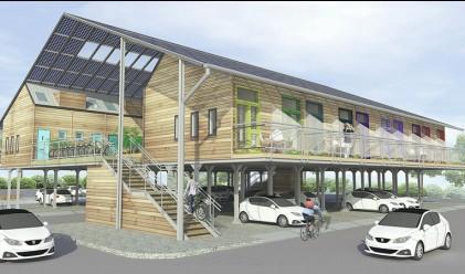 Мисли като архитект! Създай къща над вече съществуващ паркинг