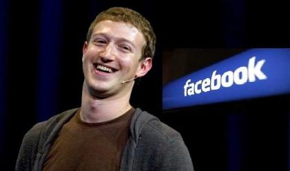 Facebook с тройно по-висока печалба, акциите на рекорд