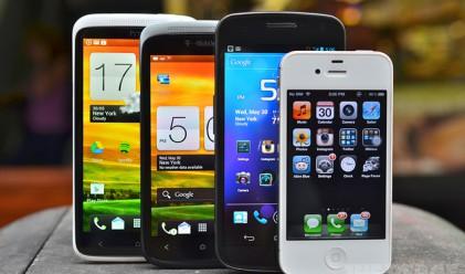 Продажбите на смартфони забавят ръста си в следващите пет години