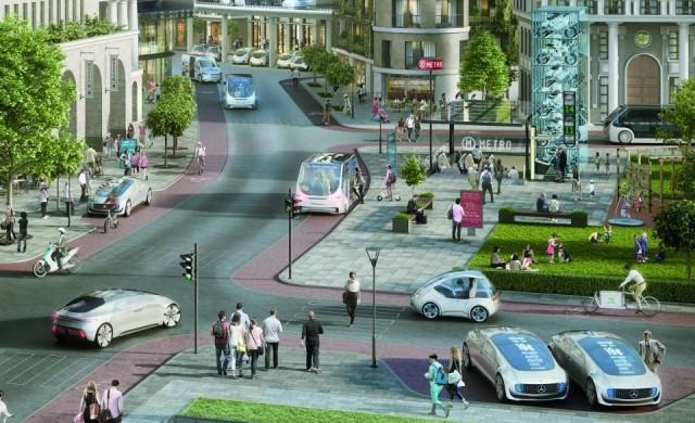 Bosch и Mercedes  ще правят самоуправляващо се такси