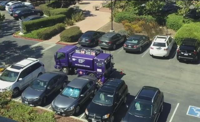 Компания доставя гориво до мястото, където сте паркирали