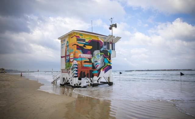 Тази спасителна кула в Тел Авив всъщност е хотел