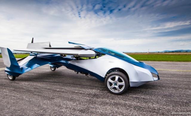 На автошоу в Монако ще покажат летящ автомобил