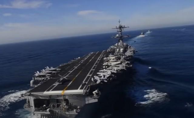 Щатският самолетоносач не бил потеглял към Северна Корея