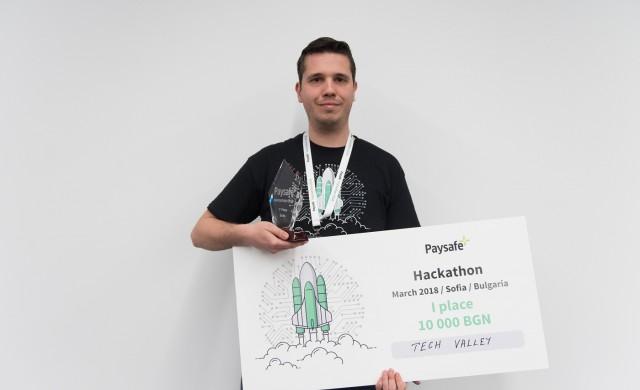 Tech Valley спечели 5 000 евро в Paysafe Hackathon 2018