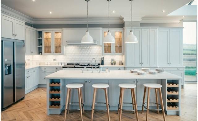 Как да отделим кухнята от хола при жилище с отворен план?