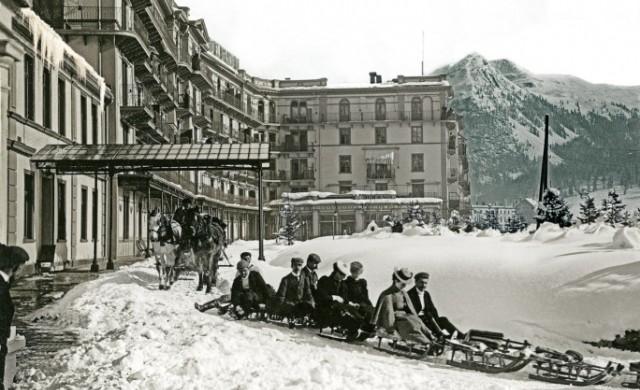 """Швейцарският хотел, в който е написана """"Вълшебната планина"""""""