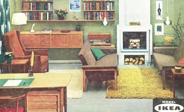 Идеалният дом от 1951 до 2000 г., според каталозите на IKEA