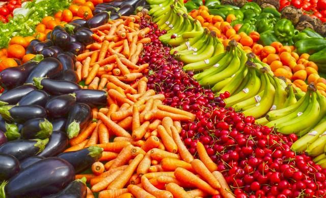 Хапвайте сурови плодове и зеленчуци за добро настроение