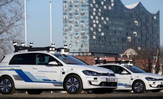 Volkswagen започва да тества автономни автомобили в Хамбург