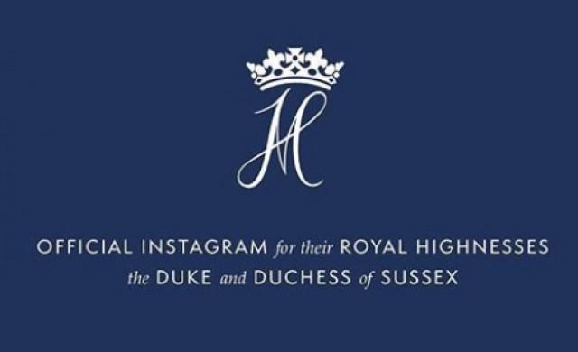 Instagram взела профила на англичанин и го дала на Хари и Мегън