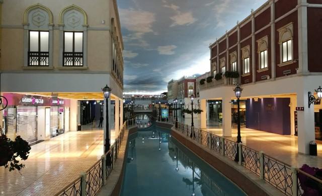 Венеция в мола, или как пазаруват катарците