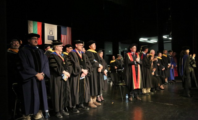 Празник на академичния успех отбеляза АУБ