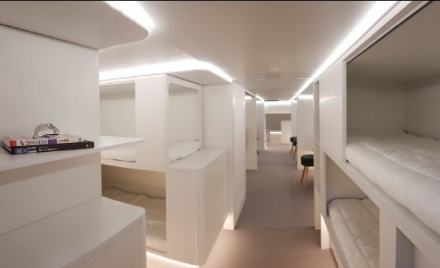 Бихте ли спали в багажното на самолет?