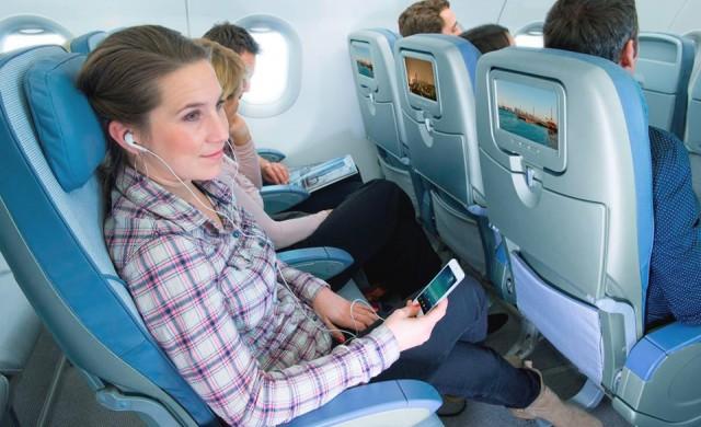 Airbus представи първия смарт пътнически салон