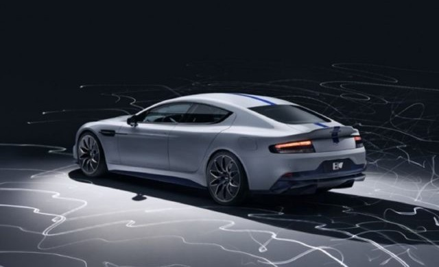 Първият Aston Martin електромобил