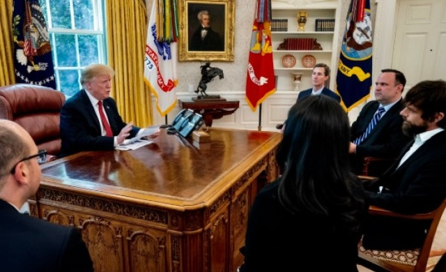 Тръмп се срещна с шефа на Twitter