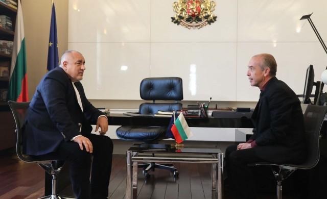 Какво каза Бойко Борисов на срещата с д-р Атанас Мангъров?