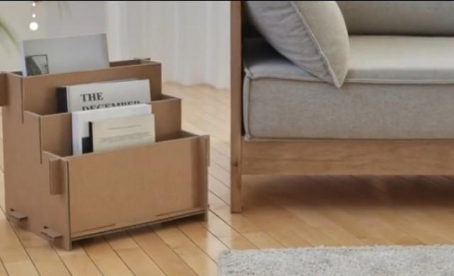 Samsung опакова телевизорите си в кашони, превръщащи се в мебели