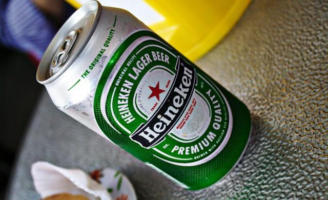 Heineken: Пием по-малко бира