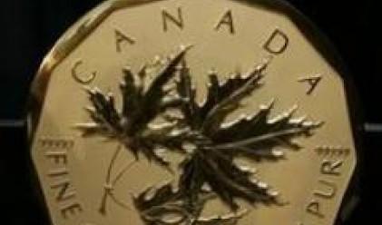 Пуснаха златна монета с тегло 100 кг. и номинал 1 млн. канадски долара
