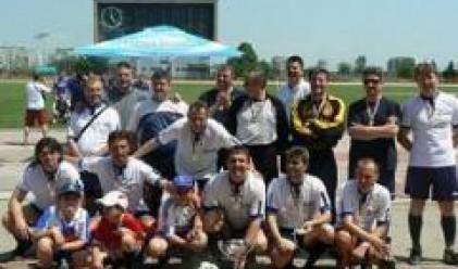 ОББ спечели втория футболен турнир за Купата на финансовите институции